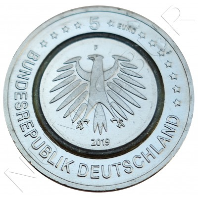 5€ GERMANY 2019 - Rabbit Zone template
