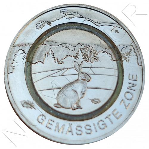5€ GERMANY 2019 - Rabbit Zone template