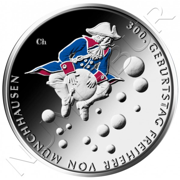 20€ GEMANY 2020 - 300th Anniv. of the Birth of Friedrich von Münchhausen