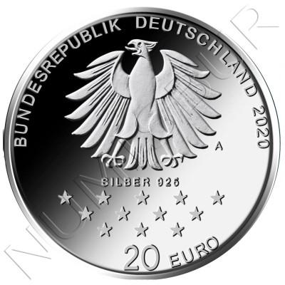 20€ GEMANY 2020 - 300th Anniv. of the Birth of Friedrich von Münchhausen