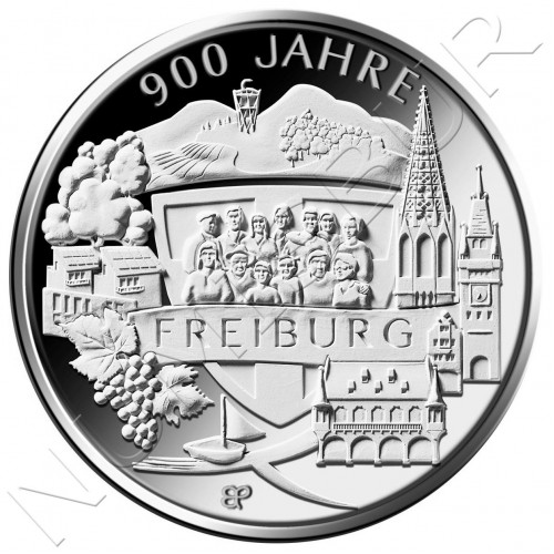20€ GEMANY 2020 - 900 Years of Freiburg