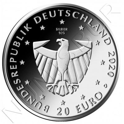 20€ GEMANY 2020 - 900 Years of Freiburg