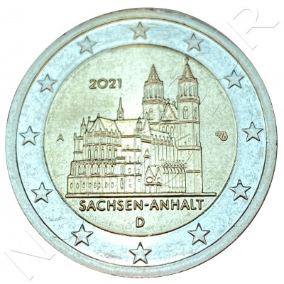 2€ GERMANY 2021 - Sachsen Anhalt