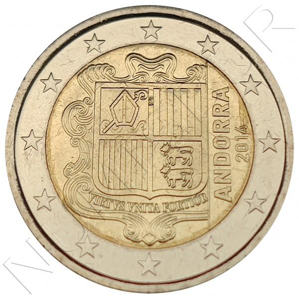 2€ ANDORRA 2014 - UNC