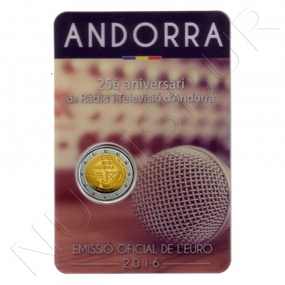 2€ ANDORRA 2016 - 150 years of the 1866 reform