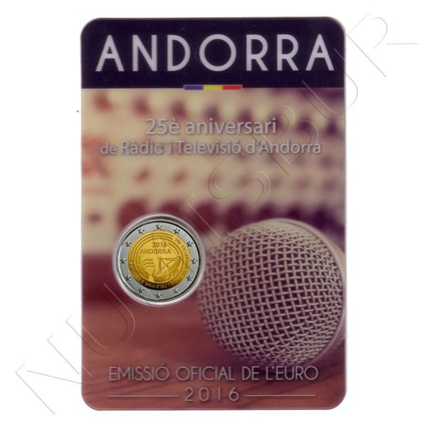 2€ ANDORRA 2016 - 150 años de la reforma de 1866