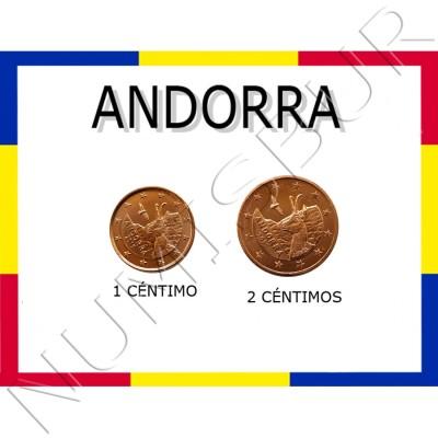 1, 2 cents ANDORRA 2017 - S/C