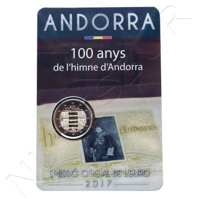 2€ ANDORRA 2017 - Himno de Andorra