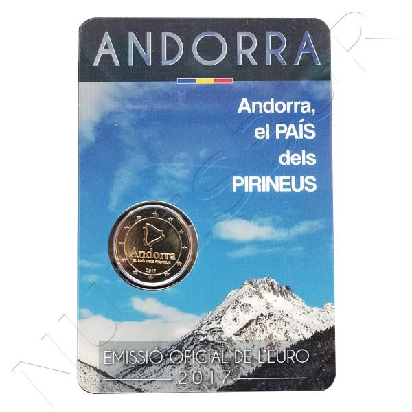 2€ ANDORRA 2017 - Andorra, el País de los Pirineos