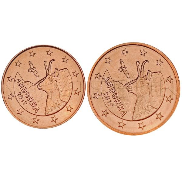 1, 2 cents ANDORRA 2019 - S/C