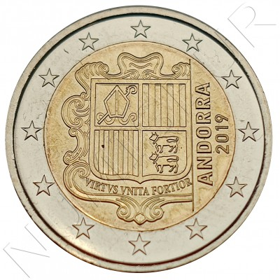 2€ ANDORRA 2019 - Circulated UNC