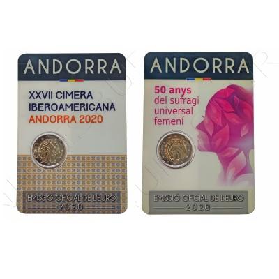 2€ ANDORRA 2020 - PAIR