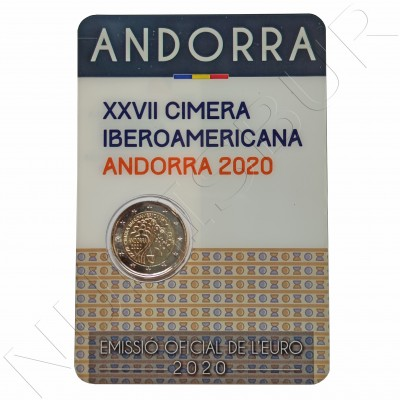 2€ ANDORRA 2020 - XXVII Ibero-American Summit