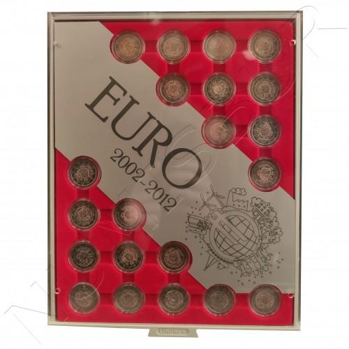 Colección completa 2€ 2012 - 10 aniversario del Euro