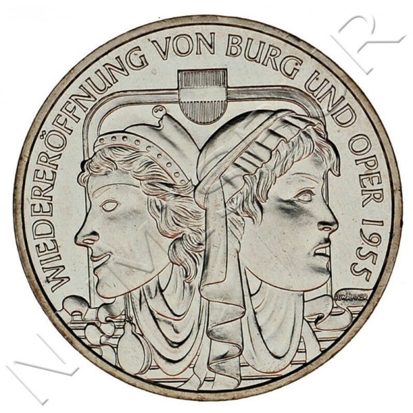 10€ AUSTRIA 2005 - Reopening of the Theater and Opera
