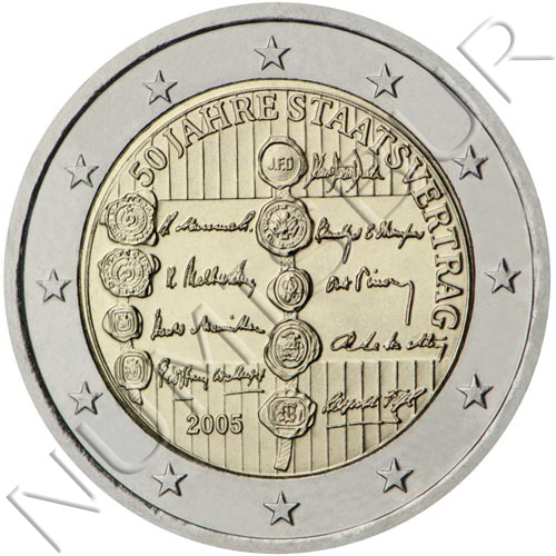 2€ AUSTRIA 2005 - Tratado de estado