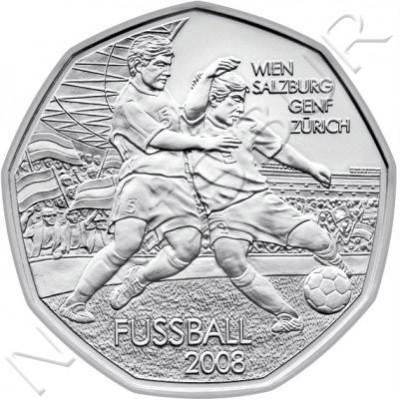 5€ AUSTRIA 2008 - Futbol Dribbling