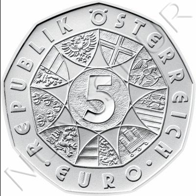 5€ AUSTRIA 2008 - Delantero de futbol