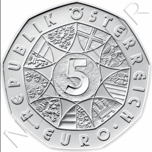 5€ AUSTRIA 2005 - Centenario Ski