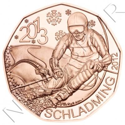 5€ AUSTRIA 2013 - SKY campeonato del mundo
