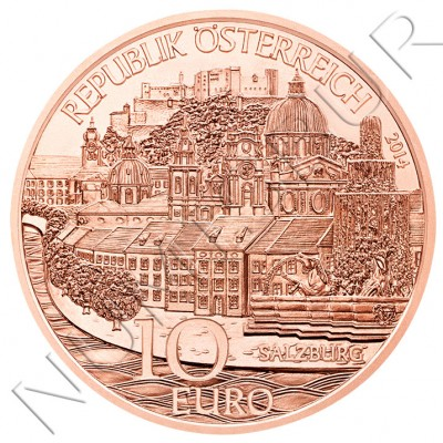 10€ AUSTRIA 2014 - Salzburg