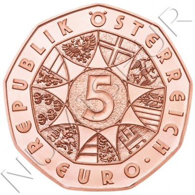 5€ AUSTRIA 2015 - Fuerzas armadas Austriacas