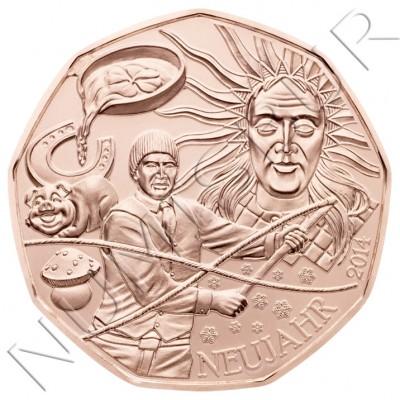 5€ AUSTRIA 2014 - Regalo de año nuevo de suerte