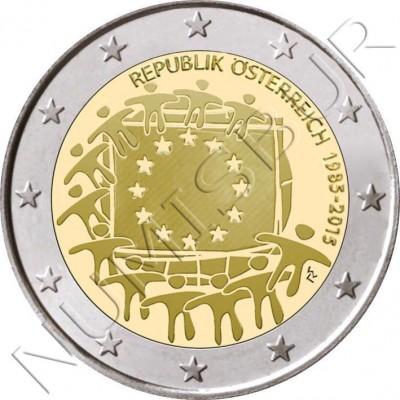 2€ AUSTRIA 2015 - XXX aniv. de la bandera Europa