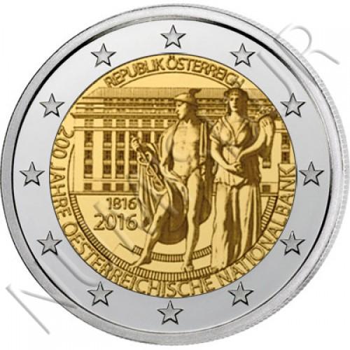 2€ AUSTRIA 2016 - 200 years of Nacional Bank