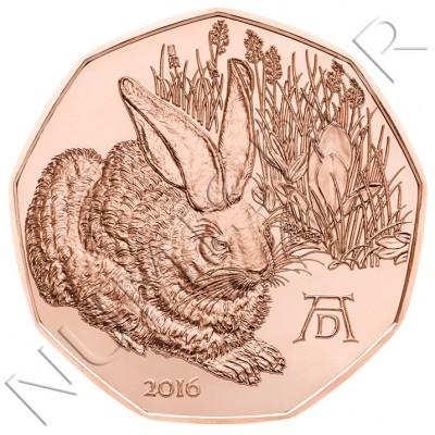 5€ AUSTRIA 2016 - Liebre