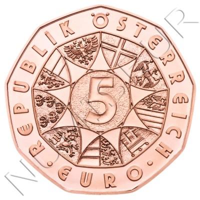5€ AUSTRIA 2018 - Lyon