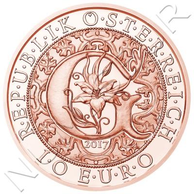 10€ AUSTRIA 2017 - Arcangel Gabriel