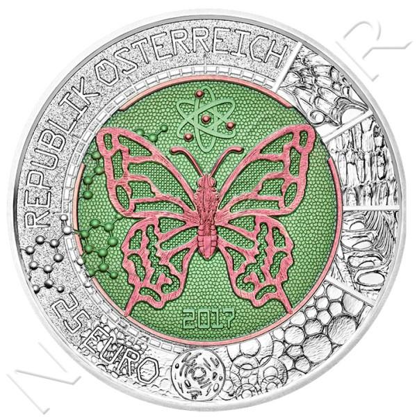 25€ AUSTRIA 2017 - El microcosmos