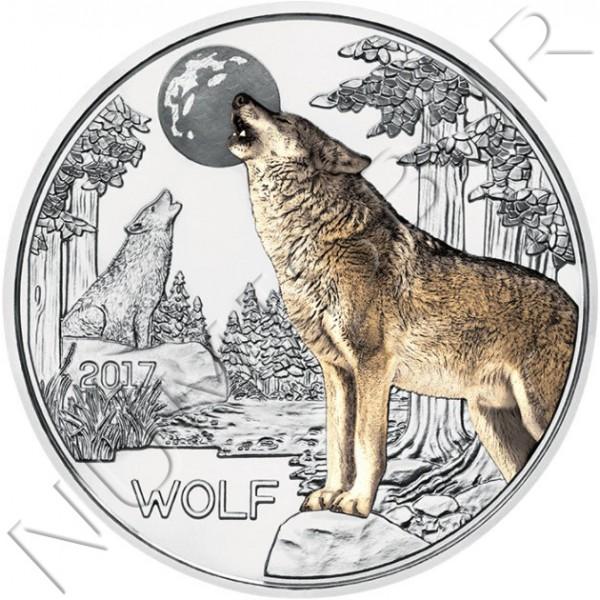 3€ AUSTRIA 2017 - Lobo
