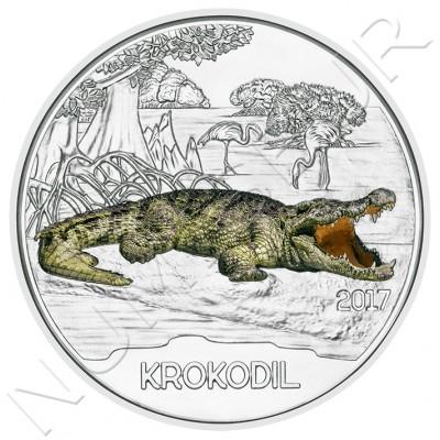 3€ AUSTRIA 2017 - Cocodrilo