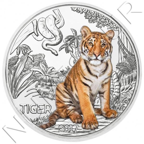 3€ AUSTRIA 2017 - Tigre