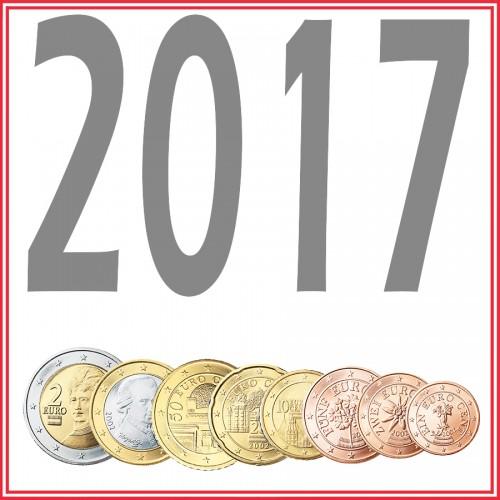 Tira AUSTRIA 2017 - 8 valores
