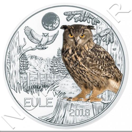 3€ AUSTRIA 2018 - Buho