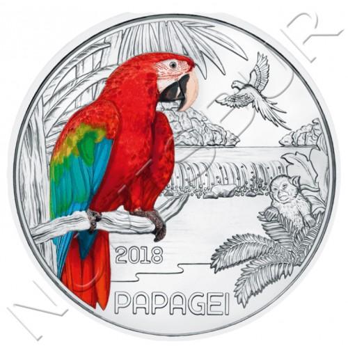 3€ AUSTRIA 2018 - Parrot