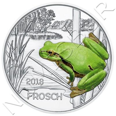 3€ AUSTRIA 2018 - Frog