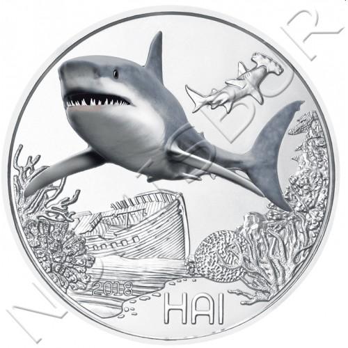 3€ AUSTRIA 2018 - Tiburon