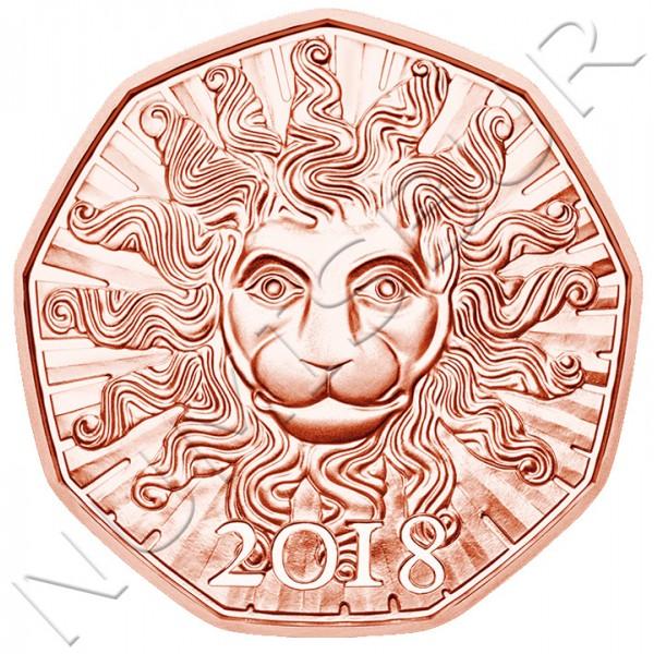 5€ AUSTRIA 2018 - Leon