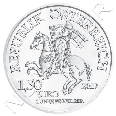 1.50€ AUSTRIA 2019 - Duke Leopold V