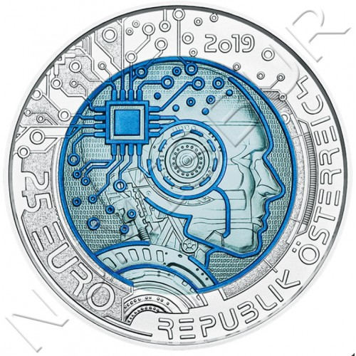 25€ AUSTRIA 2019 - Artificial inteligent