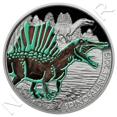 3€ AUSTRIA 2019 - Spinosaurus