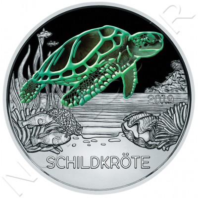 3€ AUSTRIA 2019 - Turtle