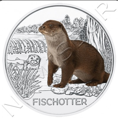 3€ AUSTRIA 2019 - Otter