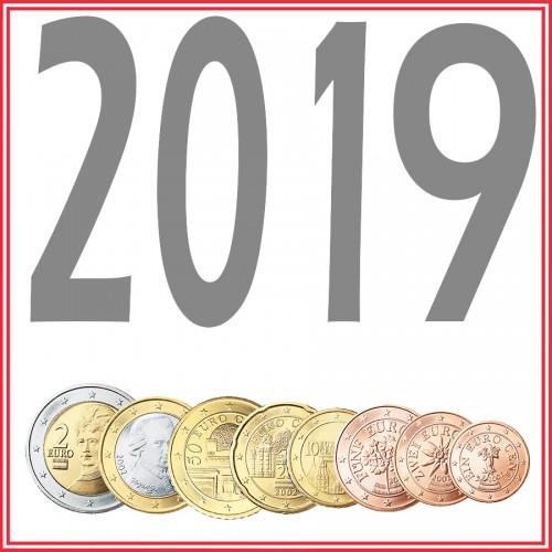 Tira AUSTRIA 2019 - 8 valores