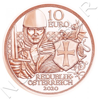 10€ AUSTRIA 2020 - Courage