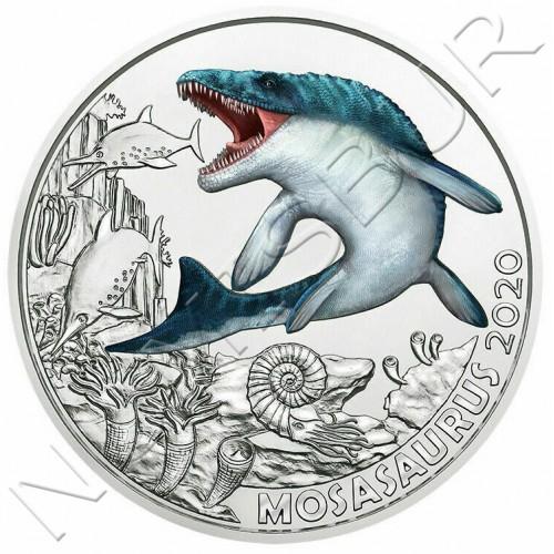 3€ AUSTRIA 2020 - Mosasaurus